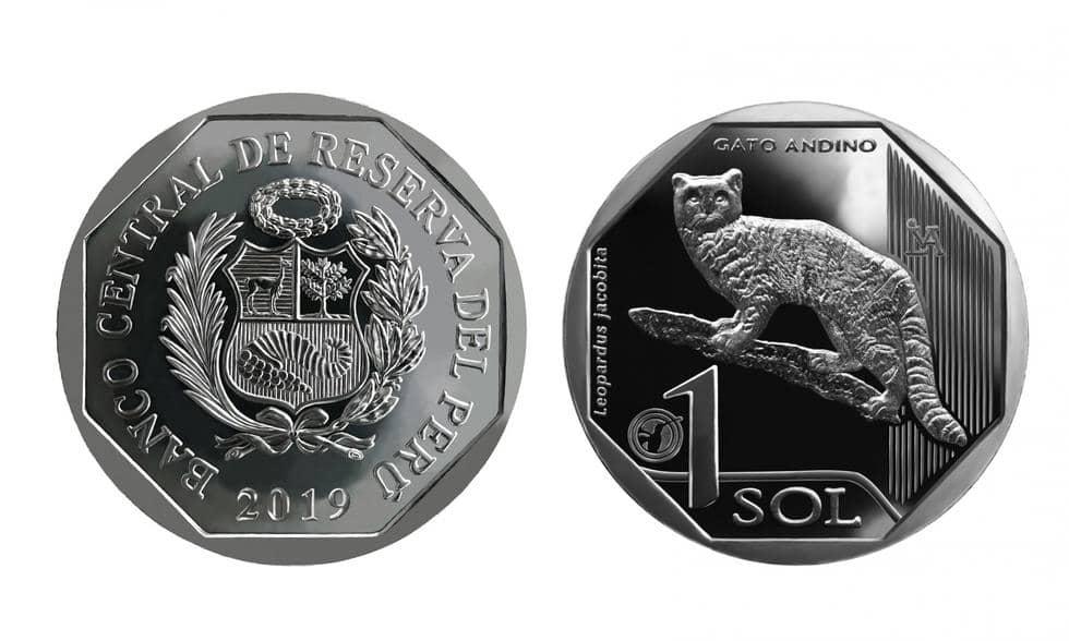 Monedad común denomiador. Sol del gato andino